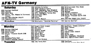 Germany Tv Guide