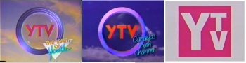 YTV On-Screen Idents from 1989 and early 1990s