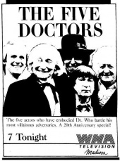 The Five Doctors ad